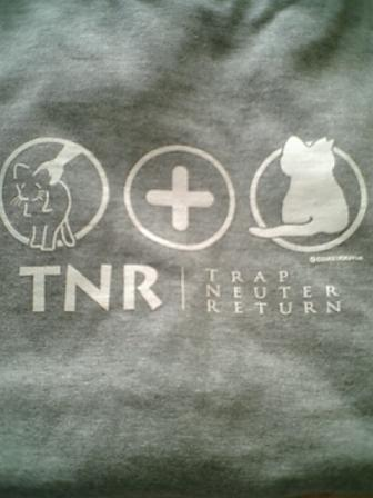 TNRシャツ